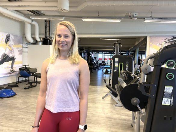Esittelyssä Saana, Kuntokeskus Riihimäen uusi personal trainer!